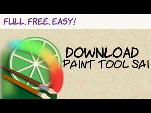 How to DOWNLOAD Paint Tool SAI - Full, free and Easy! (BEST WAY ...