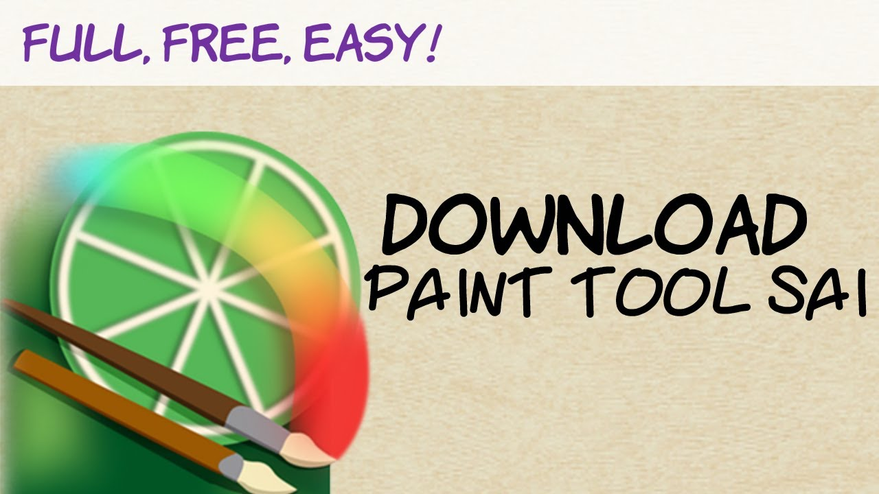How To Download Paint Tool Sai Full Free And Easy Best Way