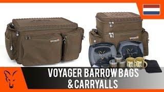 ***Fox Karpervissen TV*** Voyager Barrow bags en Carryalls