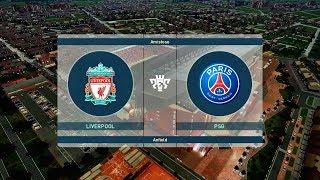 LIVERPOOL FC X ( PSG ) PARIS SAINT-GERMAIN  ( 1080p / 60FPS ) ANFIELD ROAD - PES 2019