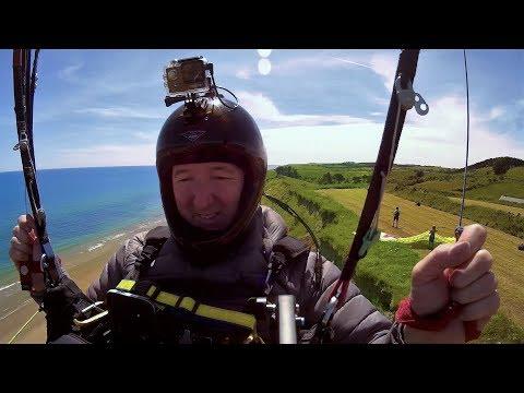 Paragliding Blackwater Beach Ireland 2019
