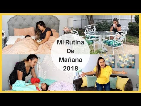 MI RUTINA DE MAÑANA, OTOÑO 2018 ♥ AURORA ELIZONDO