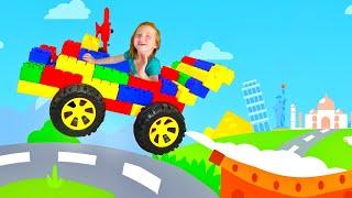 Adley App Reviews | Amaya Kids Cars | NEW GAME race car makeover Adley vs Dad