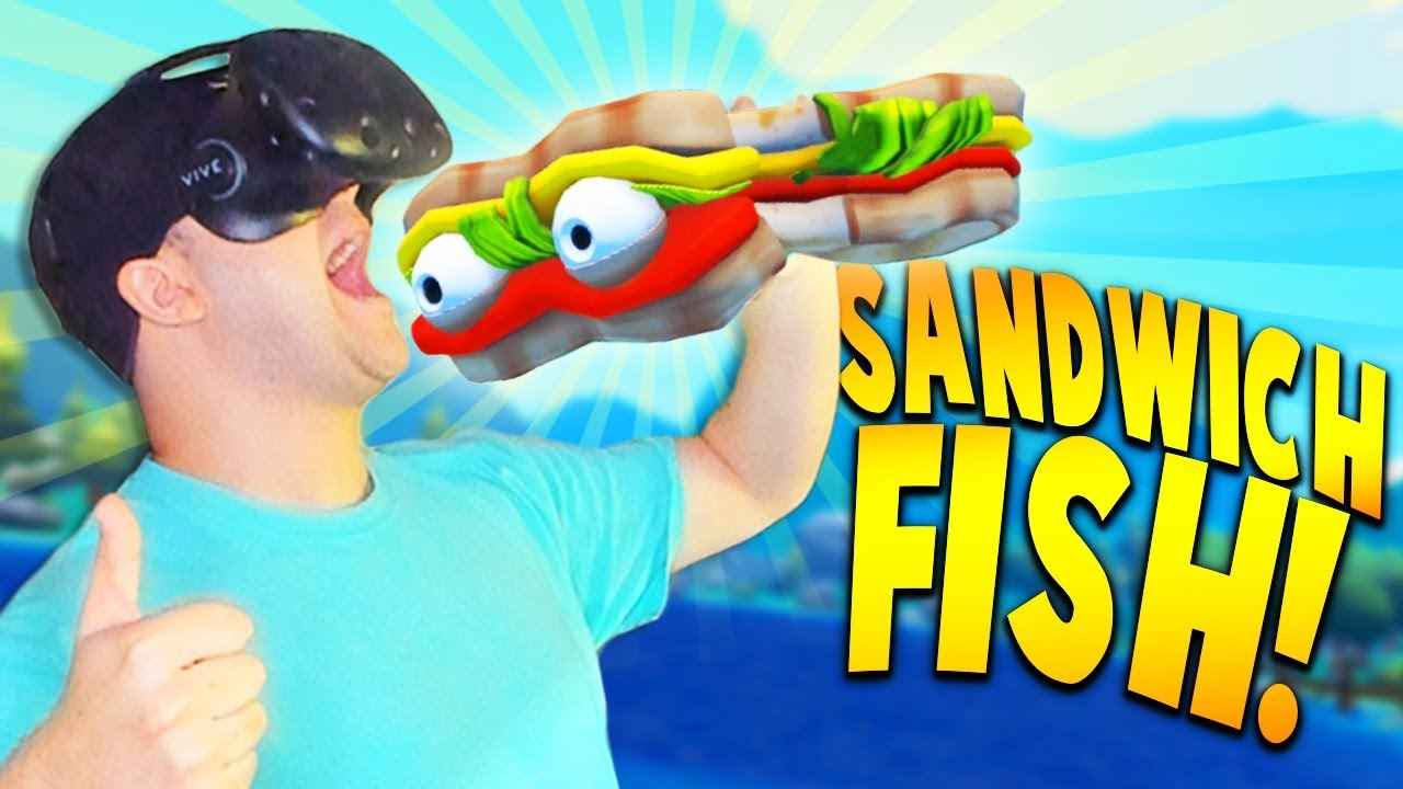 Taking a bite out of the super rare sandwich fish more for Crazy fishing vr