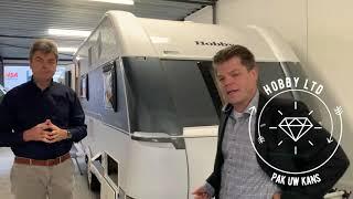 Review Hobby 2019 Hobby De Luxe 490 KMF nu bij Meerbeek Caravans en Campers