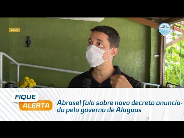 Fase Amarela: Abrasel fala sobre novo decreto anunciado pelo governo de Alagoas