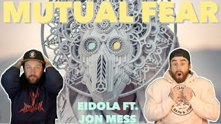 "Eidola ""Mutual Fear"" ft. Jon Mess | Aussie Metal Heads Reaction"