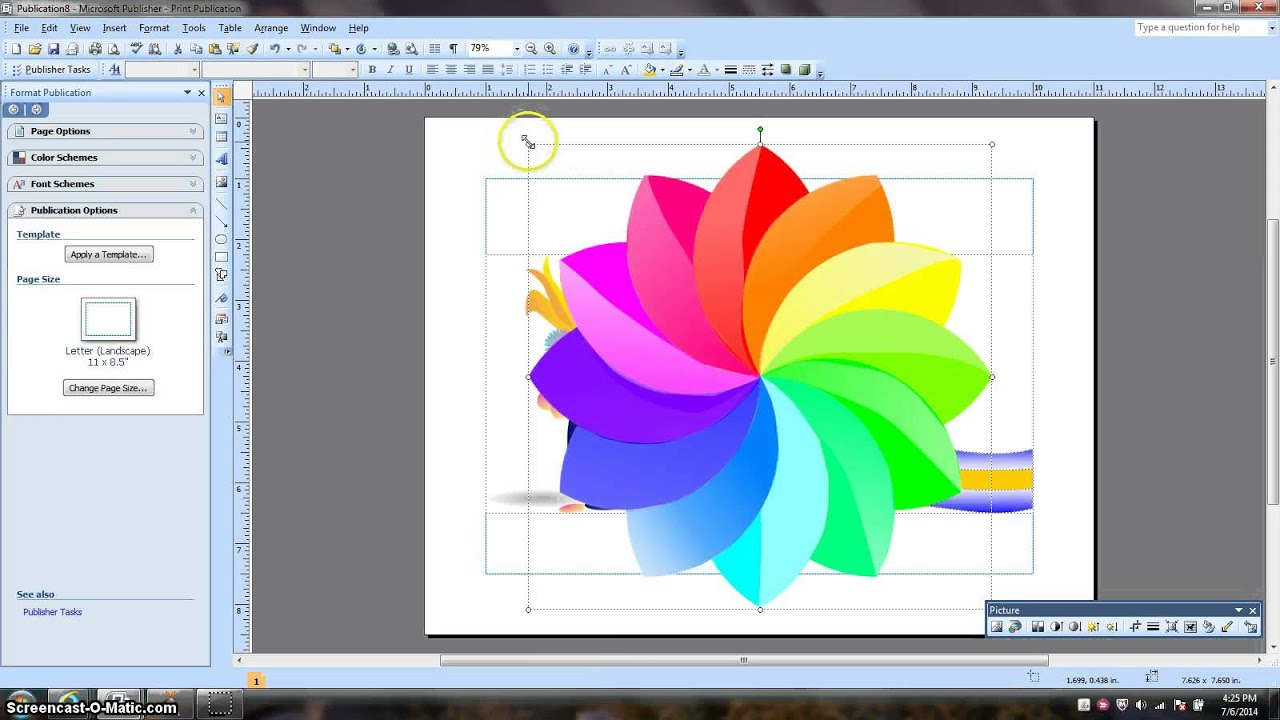 Create a logo with ms publisher youtube for Microsoft word graphic design