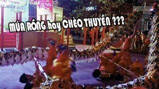 MÚA RỒNG hay CHÈO THUYỀN ??? AN HOÀ ĐƯỜNG Lion and Dragon dance