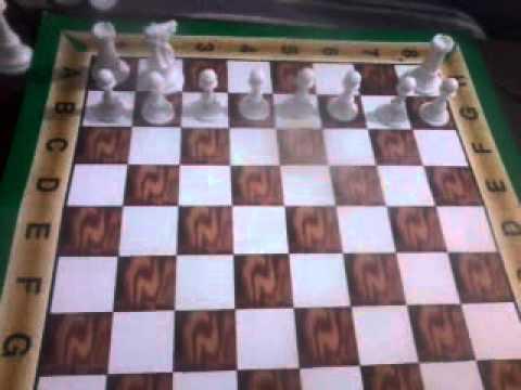 كيفية ترتيب قطع الشطرنج Youtube