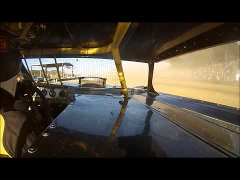 Expo Speedway/ Trumbull County Fair stock car race 2013 Gopro
