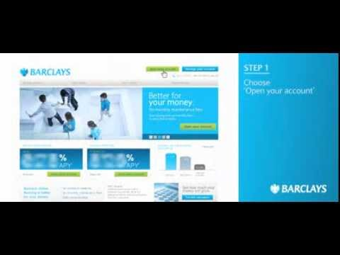 Barclays How To Open An Account Narrated By Debbie Irwin