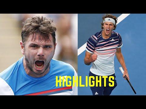 STAN WAWRINKA VS ALEX ZVEREV - AO 2020 - QUARTER FINAL - HIGHLIGHTS (HD) - BEST POINTS