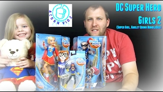 DC Super Hero Girls 2 (SuperGirl, Harley Quinn, BubbleBee)