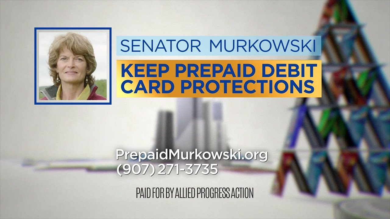 WATCH: New Ad Calls on Sen  Murkowski to Oppose Repeal of Prepaid