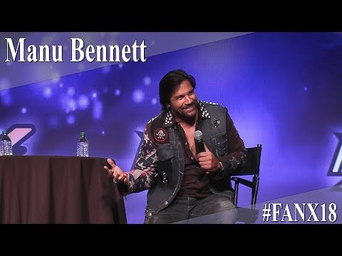 Manu Bennett  Full PanelQ&A  X 2018