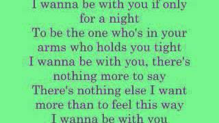I wanna be with you Mandy Moore (lyrics)