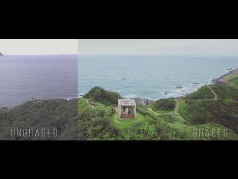 【Keelung -Taiwan】 - Dji Phantom4 Color grading