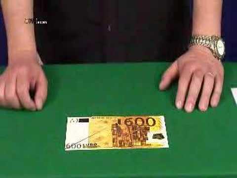 Nº121 Billete de 600 Euros - YouTube
