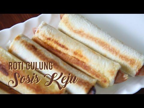Roti Gulung Sosis Keju