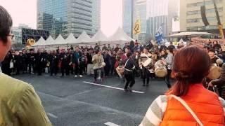 3월 11일 탄핵축하 제 20회 촛불집회 【풍물놀이】