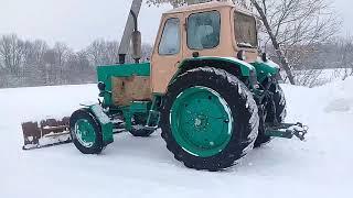 Чистим снег на ЮМЗ - 6 (12. 01.19)