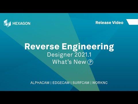 Reverse Engineering | ALPHACAM Designer 2021.1