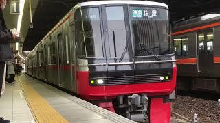 [2018年度新型車両‼️]名鉄3300系 3315f(準急佐屋行き)金山駅 発車‼️