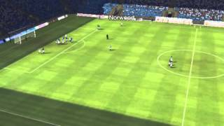 Huddersfield mot Leicester - Schmeichel scorer 77 minutter