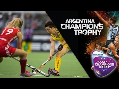 Australia vs England - Women's Hockey Champions Trophy 2014 Argentina Group A [29/11/2014]
