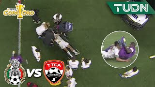 ¡ALARMA ENCENDIDA! 'Chucky' sale con COLLARÍN | México 0-0 T y Tobago | Copa Oro 2021| Grupo A