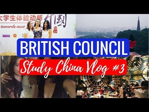 STUDY CHINA VLOG #3: BEST BOOKSHOP, LINGYIN TEMPLE & CLOSING CEREMONY | viola helen