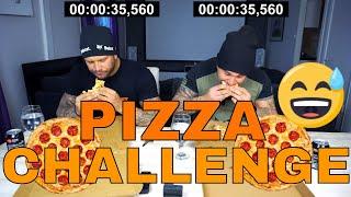 Äter en pizza under 60sek - utmanar MATKOMA & HOFFA KAOS!