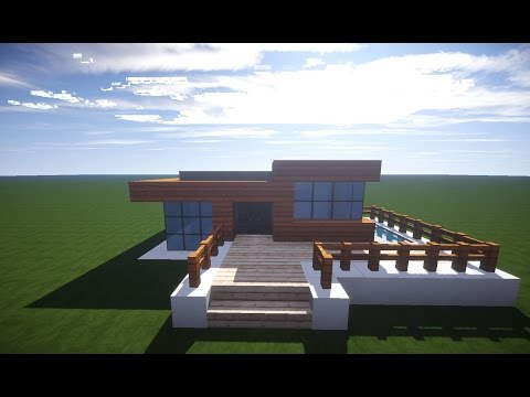Download video minecraft modernes haus mit wintergarten for Modernes haus download