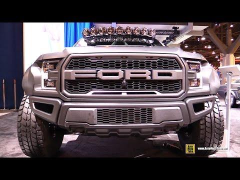2017 Ford F150 Raptor Pre Runner By Deberti Design - Exterior And Interior Walkaround - 2016 SEMA