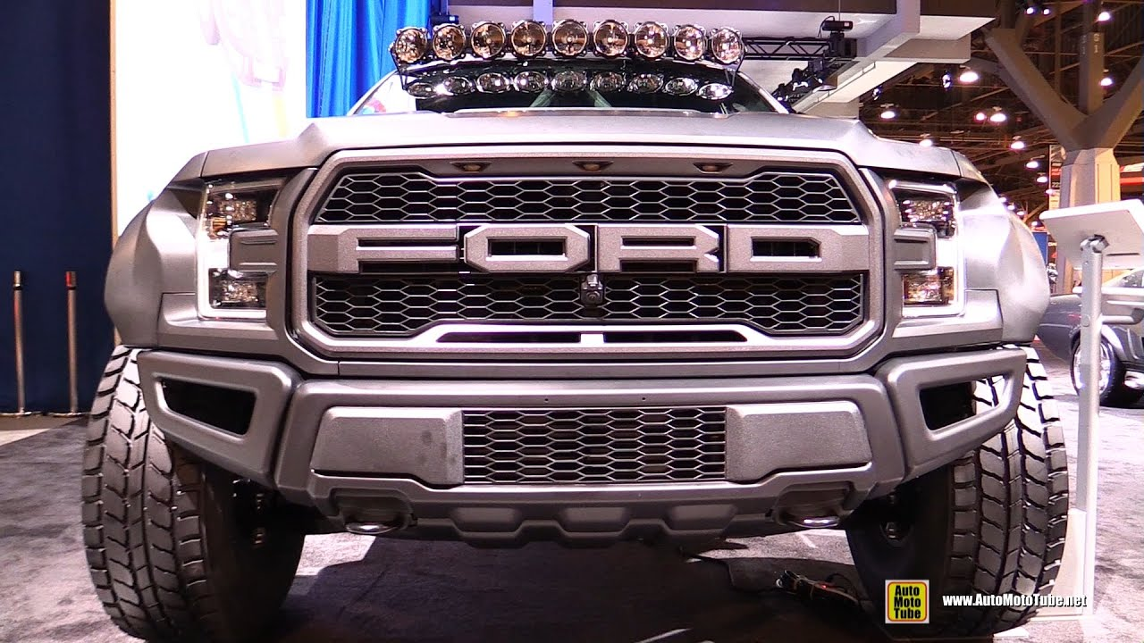 Ford Raptor Inside >> 2017 Ford F150 Raptor Pre Runner by Deberti Design - Exterior and Interior Walkaround - 2016 ...