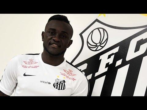 Joel é o novo reforço do Santos FC
