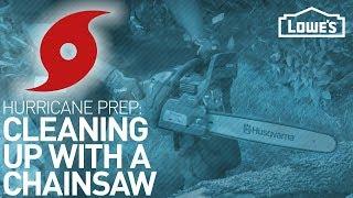Using a Chainsaw | HURRICANE PREP