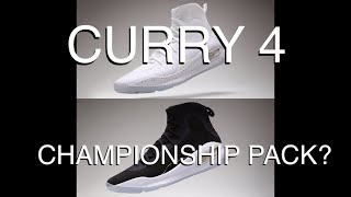 CURRY 4 CHAMPIONSHIP PACK? | All Curry 4 Colorways during the 2017 NBA Finals