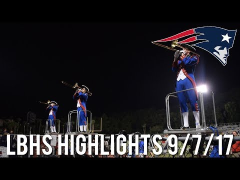 Lake Brantley Patriot Band - 9/7/2017 Highlights in the Stands
