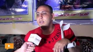 الجريح «أحمد أبوشكيان» يناشد «السلطة الفلسطينية» توفير نفقات العلاج