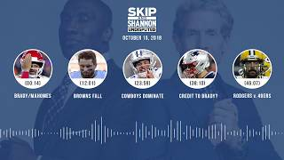 UNDISPUTED Audio Podcast (10.15.18) with Skip Bayless, Shannon Sharpe & Jenny Taft | UNDISPUTED