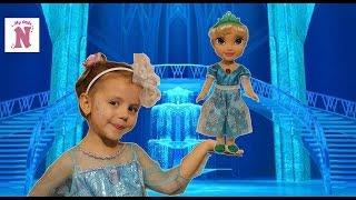 Куклы FROZEN Принцесса ЭЛЬЗА Распаковка игрушки Волшебство и магия Disney FROZEN Elsa doll