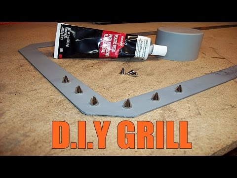 HOW TO BUILD CUSTOM GRILL D.I.Y UNDER $60 PT.3