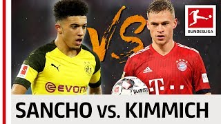 Joshua Kimmich vs. Jadon Sancho - Top Providers Go Head-to-Head