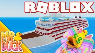 BUYING THE 2 MILLION OSPREY CLASS SHIP! - Roblox Cruise Ship Tycoon