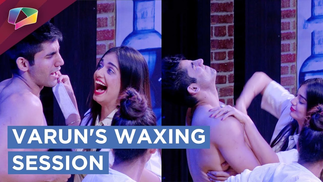 Varun's Waxing Session By Divya | Mtv | Ace Of Space