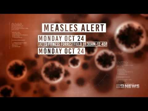 Measles Alert | 9 News Perth