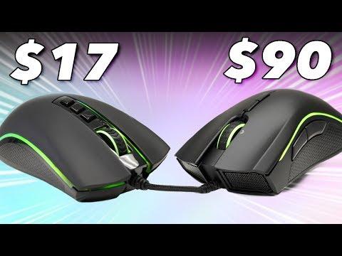 $90 Razer Mouse Vs. $17 Look-Alike: We Try Cheap Vs. Expensive Gaming Mice In Fortnite