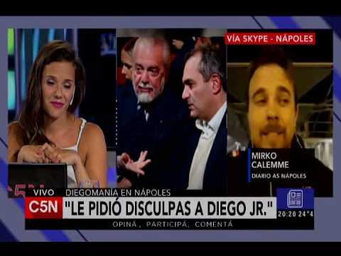 C5N - El Diario: Diegomania en Napoles